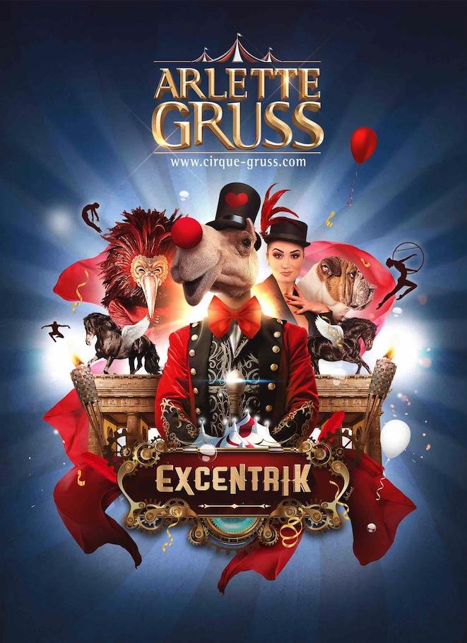 spectacle du cirque arlette gruss place des quinconce à bordeaux le 31 décembre 2020