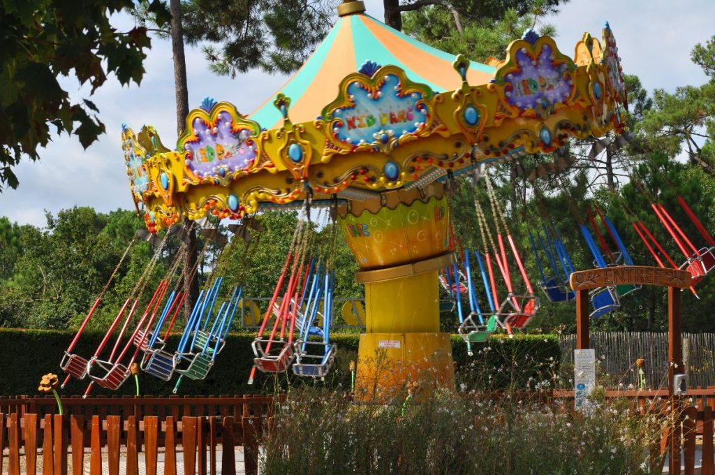 jeu parc attractions kid parc gujan mestras arcachon