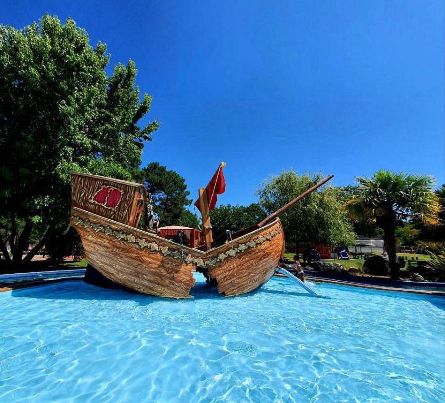 bateau pirate parc attraction pour enfant kid parc gujan mestras