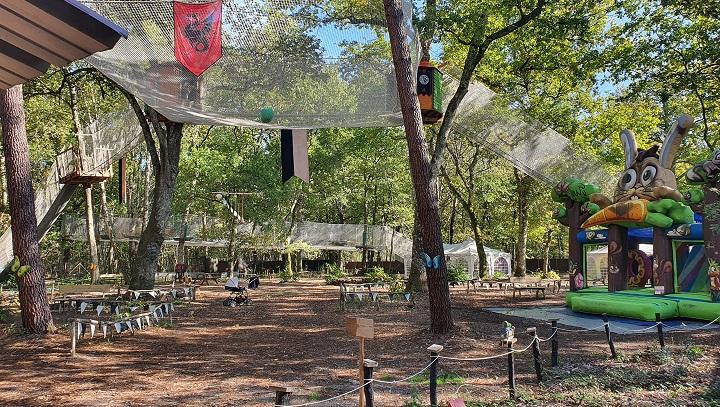 accrobranche parc des fees mystic woods park fargues-de-langon gironde