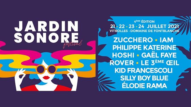 programme festival jardin sonore 2021 à vitrolles
