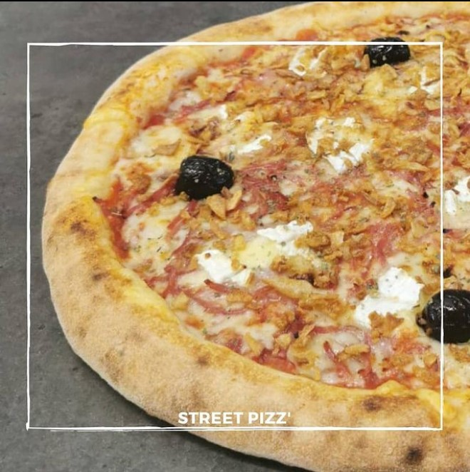 les pizzas des distributeurs street pizz