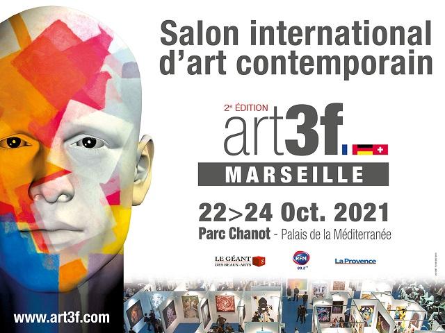 salon des arts contemporains au parc chanot à marseille en octobre 2021