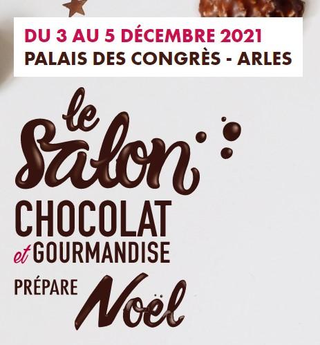salon du chocolat decembre 2021 à arles