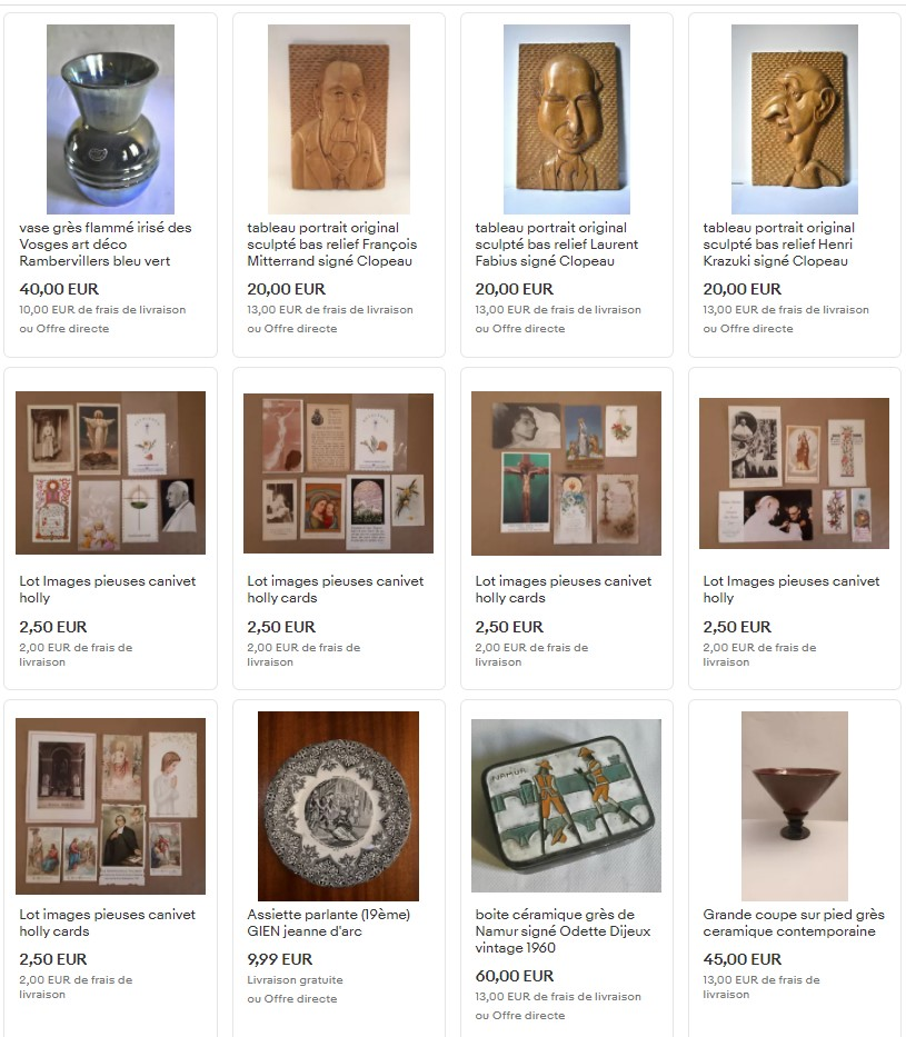 boutique ebay de art design ect, commerce de déco et vintage au cours julien à marseille dans le 13006