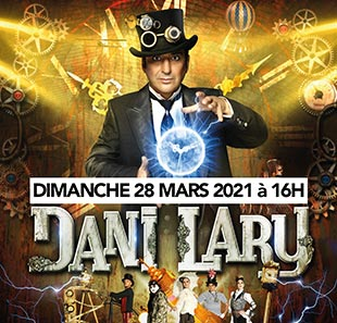 spectacle de magie en live streaming de dani lary
