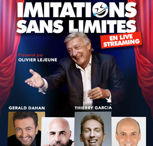 spectacle en streaming live imitation sans limites