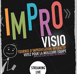 spectacle en streaming live improvisio