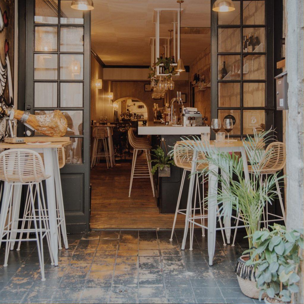 bar à tartares à bordeaux restaurant CRU