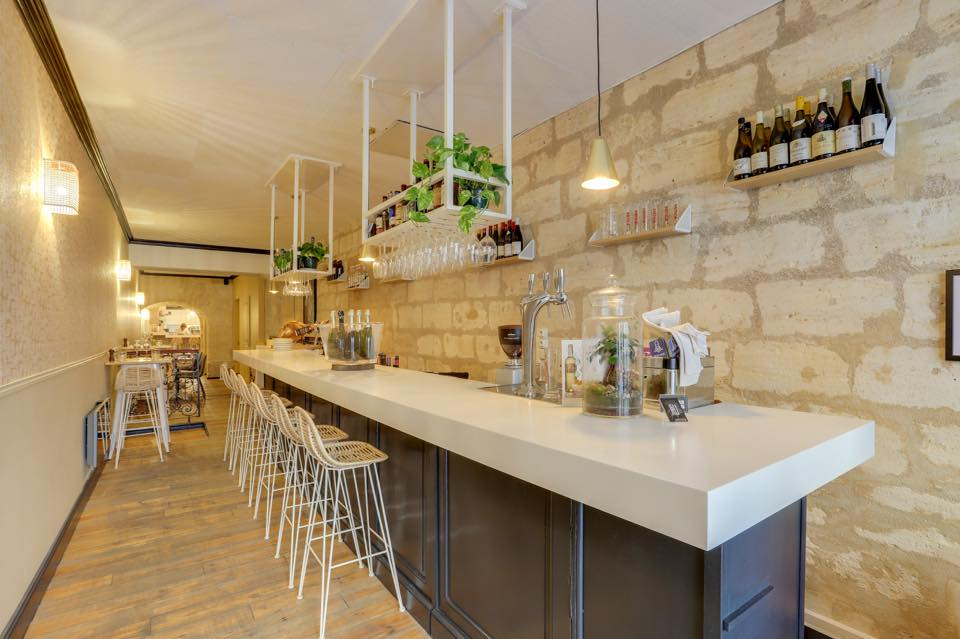 Bar à tartares restaurant Cru à Bordeaux