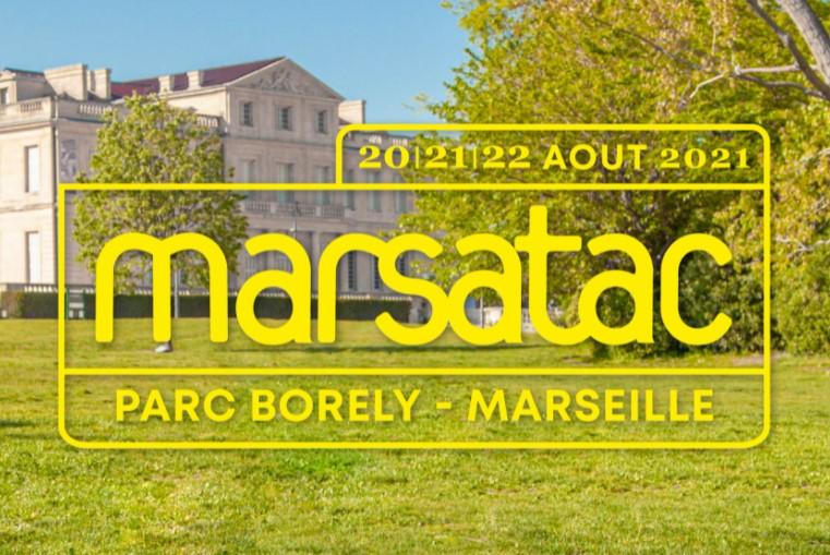 marsatac 2021 festival musique marseille parc borely aout 2021