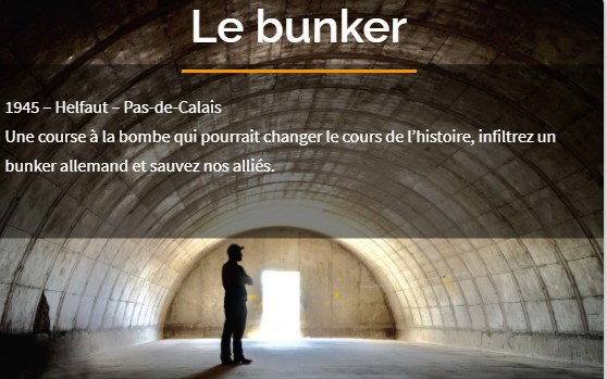 jeu escape game le bunker chez lib'escape libourne