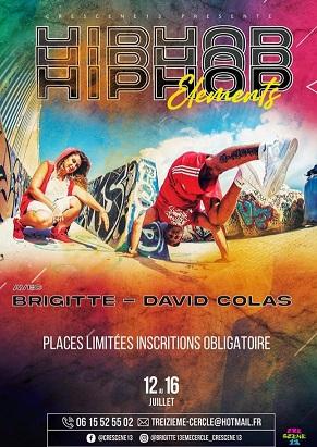 stage danse hip hop pour enfant ecole de danse cré-scène 13 marseille