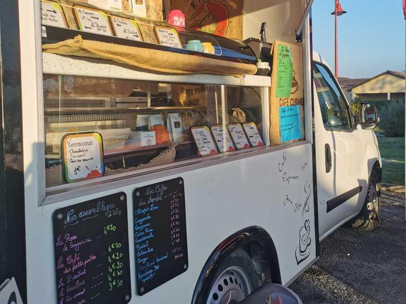 la rose de guyenne camion food truck podensac et marche en sud gironde