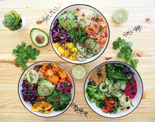 poke bowl healthy homemade du restaurant green bowl à aix-en-provence