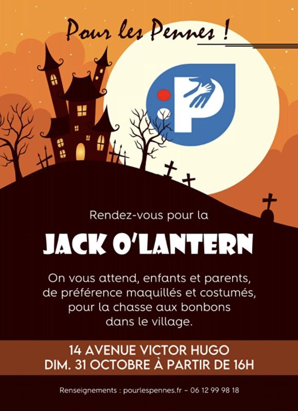 Chasse aux bonbons pour Halloween dans le village des Pennes Mirabeau