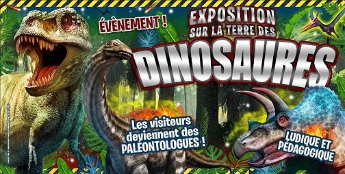 exposition des dinosaures à Mallemort