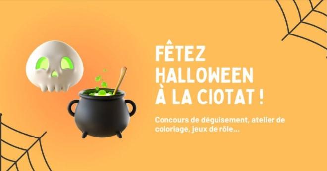 fête d'Halloween à la Ciotat