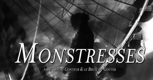"""Pourquoi Pas ? Café culturel Bordeaux - L'Oiseau Conteur & le Bruit du Goûter présentent : """"Monstresses"""", lecture-concert d'Halloween"""