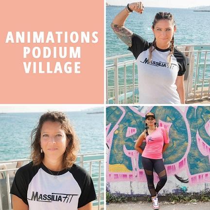 animations village la marseillaise des femmes octobre 2021
