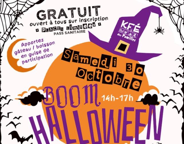 boum d'halloween, animation pour enfants gratuit à bordeaux