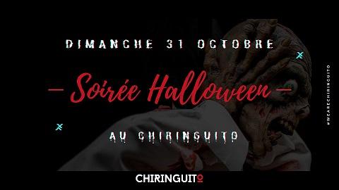 Soirée Halloween au Restaurant Chiringuito à Aix-en-Provence le 31 octobre 2021 de 19h à 01h
