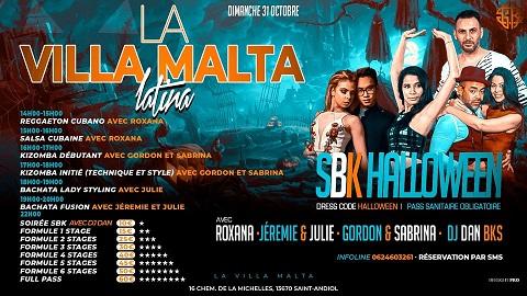VILLA MALTA SBK Halloween (stage et soirée) à Saint Andiol le 31 octobre 2021
